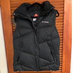 Columbia Women's Omni Heat Hooded Puffer Vest
